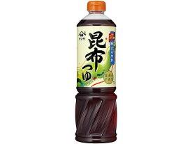 ヤマサ醤油/昆布つゆペットボトル 1L
