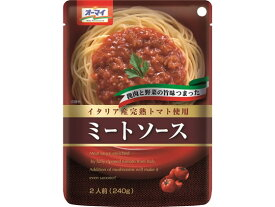日本製粉/オーマイ パスタソース ミートソース 240g