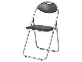 カグクロ/折りたたみ椅子 ベーシックタイプ ブラック/CO-002B