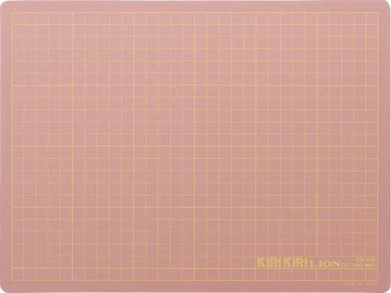 ライオン/カッティングマット KIRI KIRI ピンク/257-00【ココデカウ】