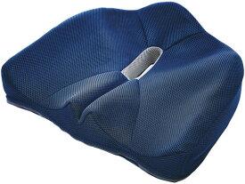 コジット/腰痛対策クッション ネイビー/93450