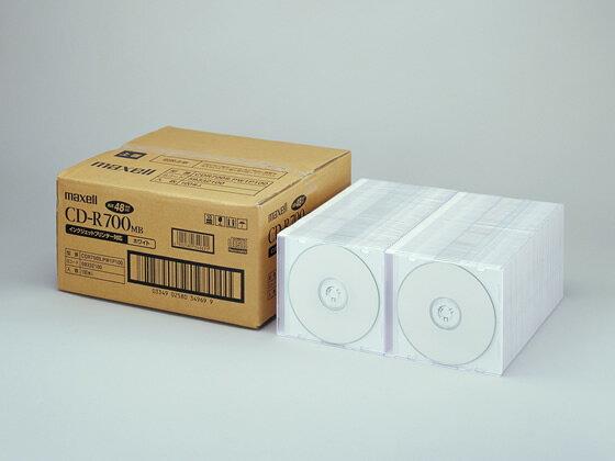 マクセル/CD-R700MB ホワイト プリンタブル 100枚/CDR700S.PW1P100
