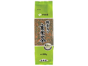 伊藤園/抹茶入り玄米茶 200g