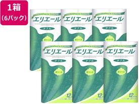 大王製紙/エリエール トイレットティシュー 30mダブル 12ロール×6袋