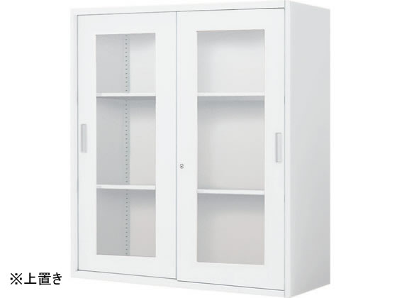 コクヨ/インベントストレージ 上置き 2枚ガラス引戸W900*D450*H1050【ココデカウ】