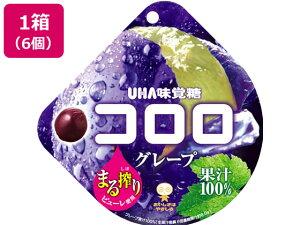 UHA味覚糖/コロロ グレープ 6個入