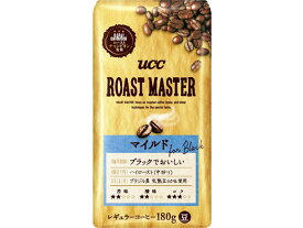 UCC/ROAST MASTER 豆 マイルド for BLACK 180g/350645