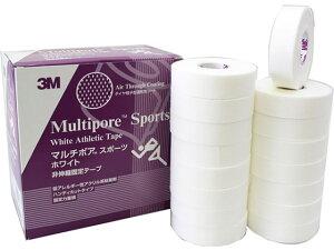 【お取り寄せ】3M/テーピング マルチポアスポーツホワイト 非伸縮固定テープ19mm 16巻