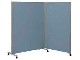 コクヨ/パネルスクリーンS 全面パネル 2連 W1230+900×H1800 ブルー