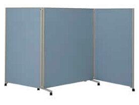 コクヨ/パネルスクリーンS 全面パネル 3連 H1800 ブルー