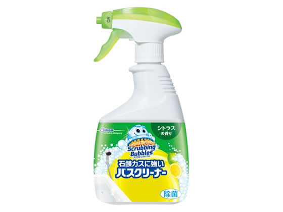 ジョンソン/スクラビングバブル石鹸カスに強いバスクリーナーシトラス本体【ココデカウ】