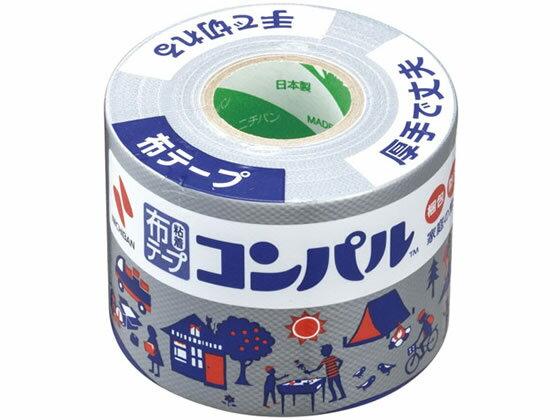 ニチバン/布粘着テープ コンパル 銀 50mm×10m/CPN10-50
