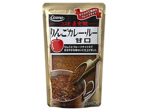 コスモ食品/コスモ 直火焼 りんごカレールー甘口 170g