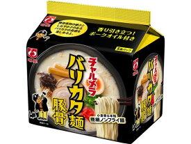 明星食品/チャルメラ バリカタ麺豚骨 5食パック