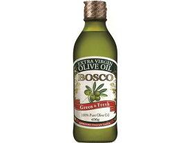 日清オイリオ/BOSCOエキストラバージンオリーブオイルGreen&Fresh456g瓶