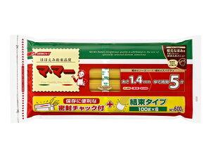 日清フーズ/マ・マー 密封チャック付結束スパゲティ 1.4mm 600g