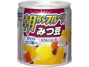 はごろもフーズ/朝からフルーツみつ豆 190g