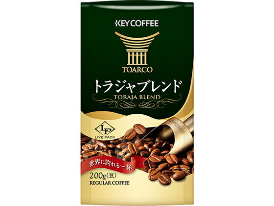 キーコーヒー/LP トラジャブレンド(豆) 200g