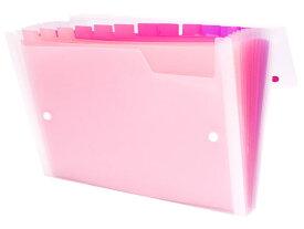 ビュートン/Gra-De ドキュメントファイル A4 13ポケット ピンク