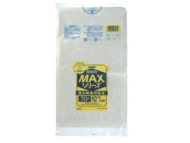 ジャパックス/業務用MAX 半透明 70L 10枚入/S-73