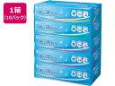 カミ商事/エルモア 水に流せるティッシュ 180組×5個 10パック