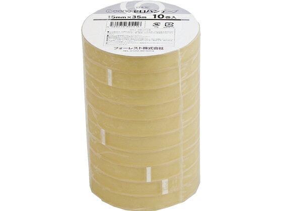 Goono/セロハンテープ 15mm*35m 10巻