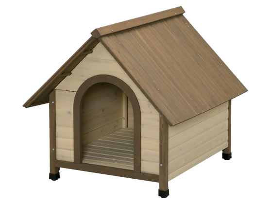 アイリスオーヤマ/ウッディ犬舎 ブラウン/WDK-900/532357