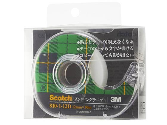 3M/スコッチ メンディングテープディスペンサー付 12mm*30m/810-1-12D