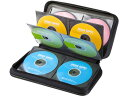 サンワサプライ/DVD・CDセミハードケース 96枚収納 ブラック/FCD-WL96BK
