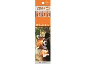 【お取り寄せ】トンボ鉛筆/ハローネイチャー かきかた鉛筆 レッサーパンダ 6B