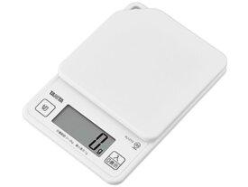 タニタ/デジタルクッキングスケール 2kg ココナッツホワイト/KJ213WH