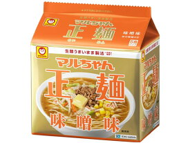 東洋水産/マルちゃん正麺 味噌味 5食パック