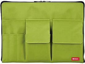 リヒトラブ/バッグインバッグ A4 黄緑/A-7554-6