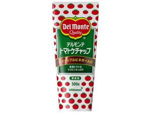 キッコーマン/デルモンテ トマトケチャップ チューブ 500g