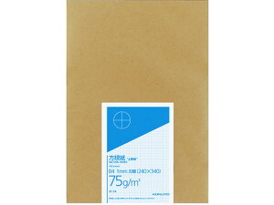 【お取り寄せ】コクヨ/上質方眼紙 B4 1mm目ブルー 刷り単葉 100枚入/ホ-14
