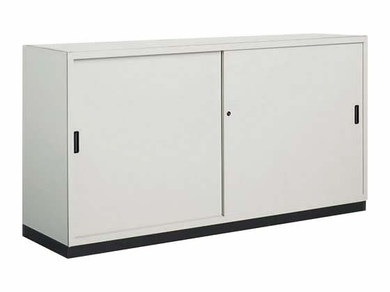 コクヨ/保管庫深型 下置き 引違い戸 W1760*D515*H880