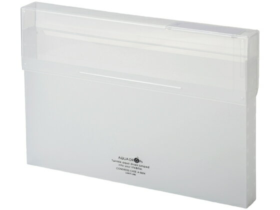 リヒトラブ/AQUA DROPs コングレスケース A4 300枚収容 乳白