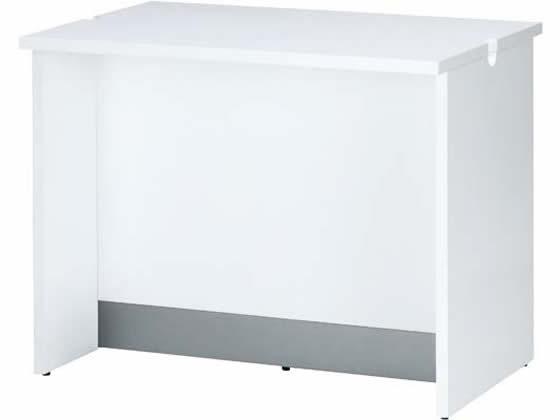 アール・エフ・ヤマカワ/ベーシック木製ローカウンター 幅900 ホワイト