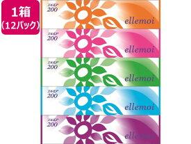 カミ商事/エルモアティシュー 200組 5個×12パック