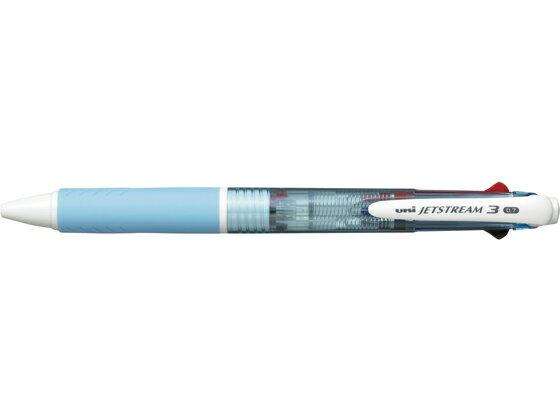 三菱鉛筆/ジェットストリーム3色ボールペン0.7mm水色/SXE340007.8