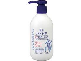 熊野油脂/麗白 ハトムギ UV ミルキージェル 250ml