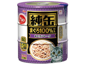 【お取り寄せ】アイシア/純缶3P まぐろフレーク