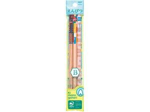 【お取り寄せ】トンボ鉛筆/かきかた鉛筆F 木物語01 B 3本×5個