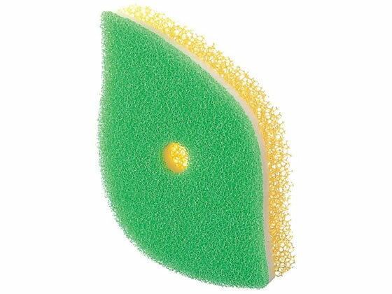 マーナ/POCO葉っぱ型スポンジ グリーン/K614G