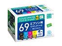 エコリカ/リサイクルインク 4色パック/ECI-E69-4P
