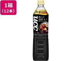 UCC上島珈琲/職人の珈琲 無糖 930ml 12本