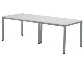 アール・エフ・ヤマカワ/OAミーティングテーブル W2100 ホワイト/ATW-2190-AF2