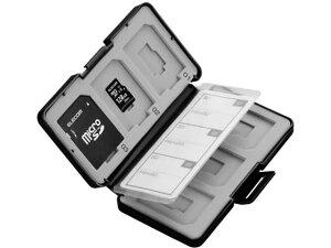 エレコム/メモリカードケース SD6枚+microSD6枚/CMC-SDCPP12BK