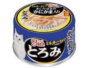 いなばペットフード/CIAO とろみミルキータイプ マグロ・ササミ カニカマ味