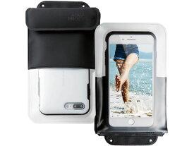 【お取り寄せ】エレコム/スマートフォン用防水 防塵ケース ポケット付タイプ/P-WPSP03BK